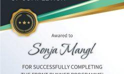 Сертификат Front Runner