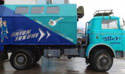 Брандиран камион - Union Ivkoni