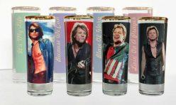 Чаши за шот със сублимация - Bon Jovi